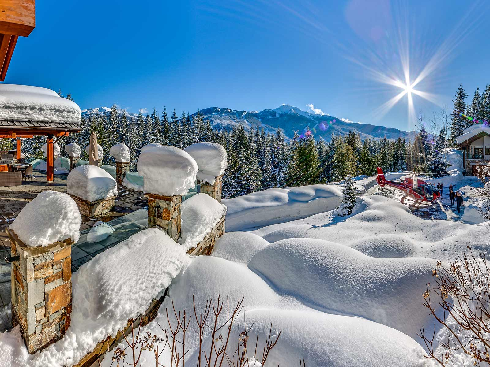 Start your Whistler adventure at the #1 Chalet in North America, the grand and luxurious Belmont Estate.