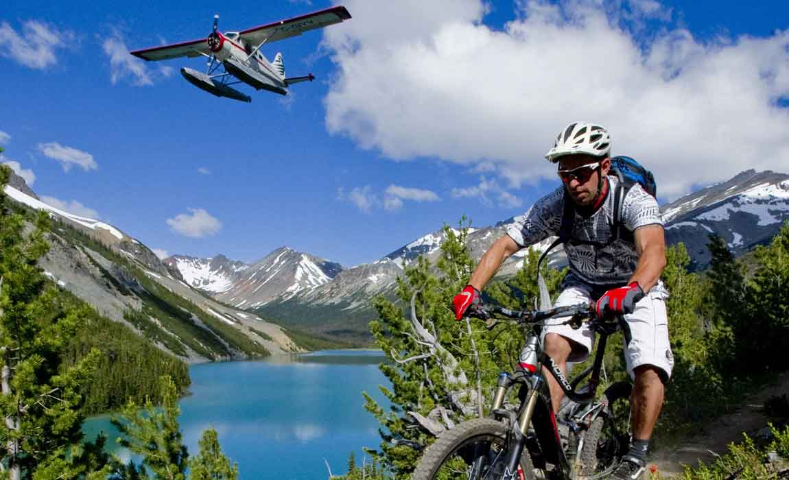 Whistler Float Plane Biking