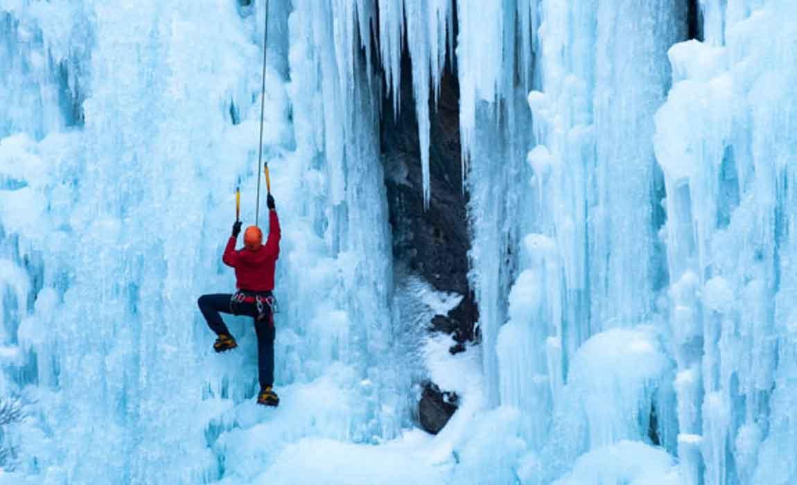 Whistler Ice Climbing
