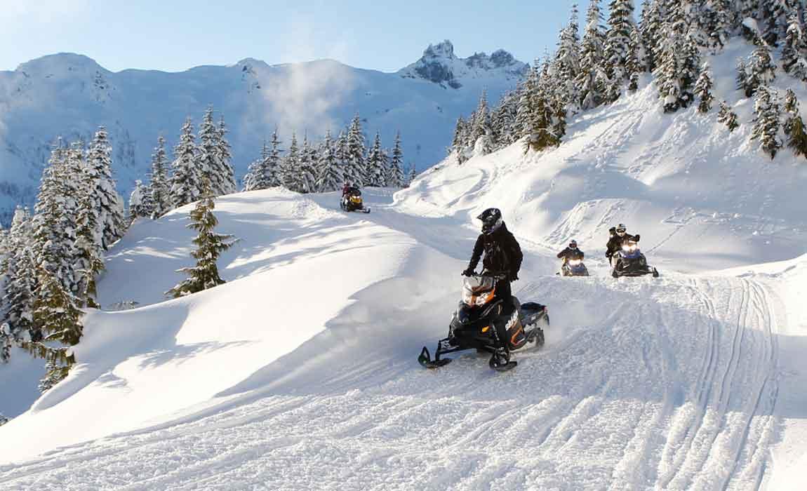 Whistler Snowmobiling Tours