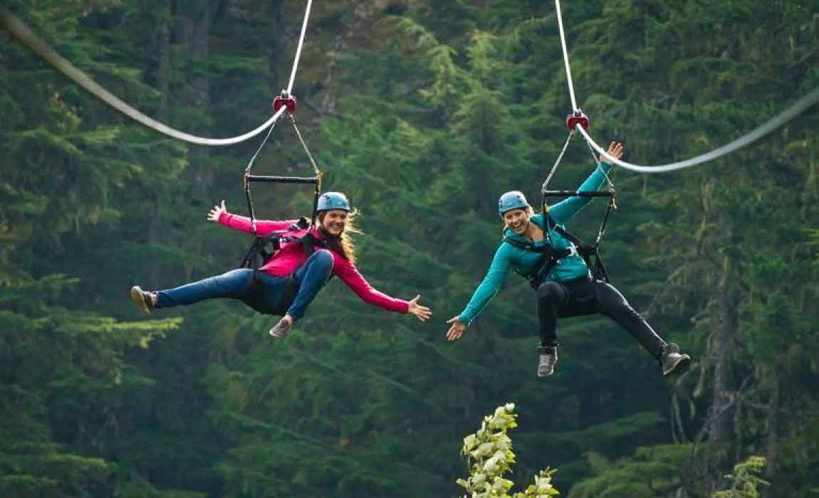 Whistler Ziplining Tours